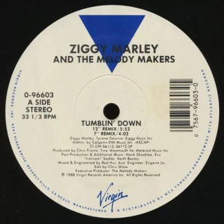 """Ziggy Marley And The Melody Makers - Tumblin' Down (12"""")"""