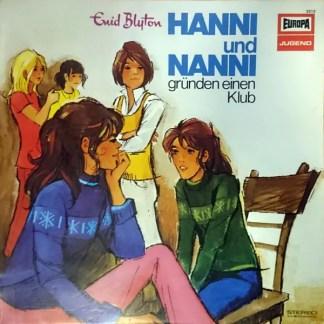 Enid Blyton - Hanni Und Nanni Gründen Einen Klub (LP)