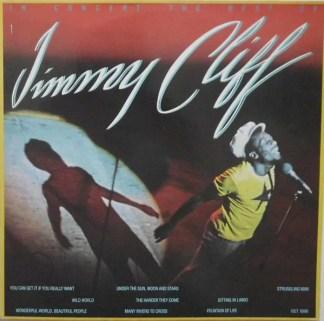 Jimmy Cliff - In Concert The Best Of (LP, Album)