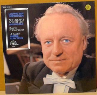 "André Cluytens, Berlin Philharmonic Orchestra*, Beethoven* - Sinfonie Nr. 6 F-dur op. 68 ""Pastorale"" (LP)"
