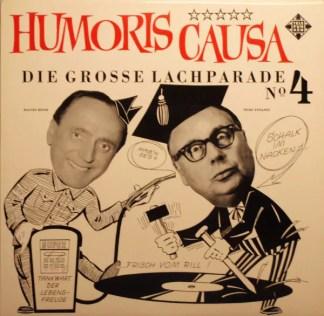 Heinz Erhardt / Walter Böhm - Humoris Causa - Die Grosse Lachparade Nr. 4 (LP, Comp)