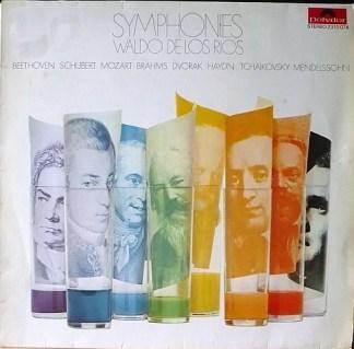 Waldo De Los Rios - Symphonies (LP, Album)