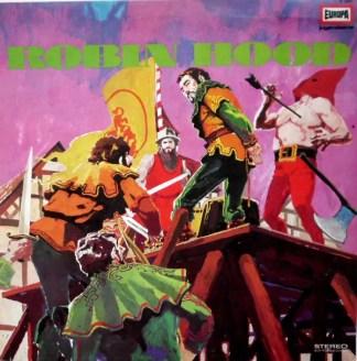 Eberhard Alexander-Burgh - Robin Hood (LP, RP)