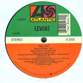 "Levert - True Dat (Extended Remixes) (12"")"