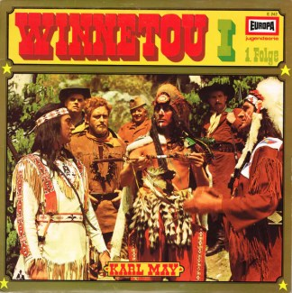 Karl May - Winnetou I 1. Folge (LP)