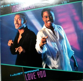 """The Main Ingredient - I Just Wanna Love You (12"""")"""