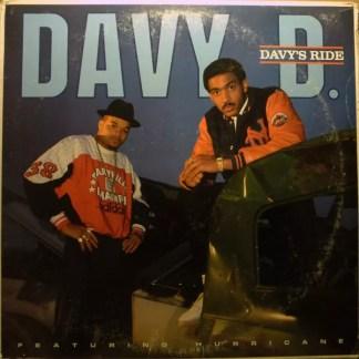 Davy D Featuring Hurricane (2) - Davy's Ride (LP, Album)
