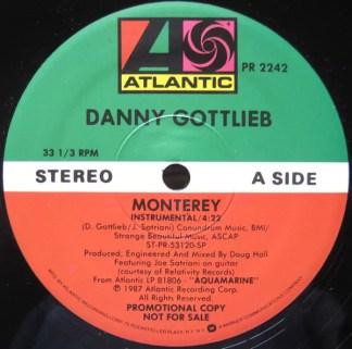 "Danny Gottlieb - Monterey (12"", Promo)"