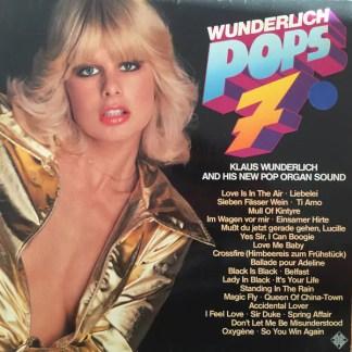 Klaus Wunderlich - Wunderlich Pops 7 (LP)