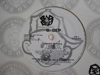 """G. Dep* - Special Delivery / Child Of The Ghetto (12"""", Promo)"""