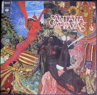 Santana - Abraxas (LP, Album, Club)