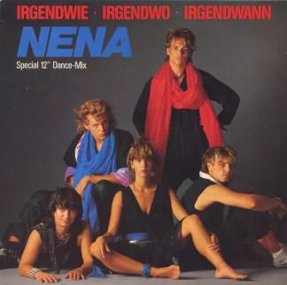 """Nena - Irgendwie · Irgendwo · Irgendwann (Special 12"""" Dance-Mix) (12"""")"""