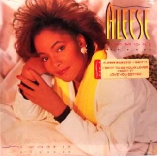 Aleese Simmons - I Want It (LP, Album)