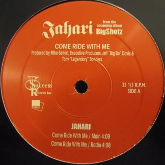 """Jahari - Come Ride With Me (12"""")"""