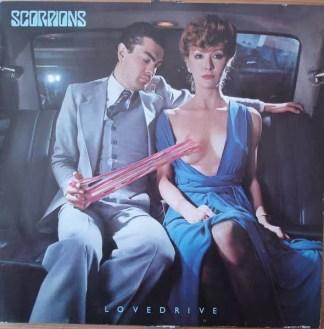 Scorpions - Lovedrive (LP, Album, Club)