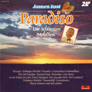 James Last - Paradiso (2xLP, Comp, Club)