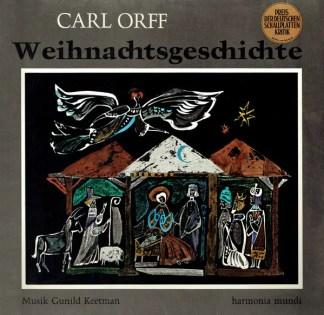 Carl Orff - Weihnachtsgeschichte (LP)