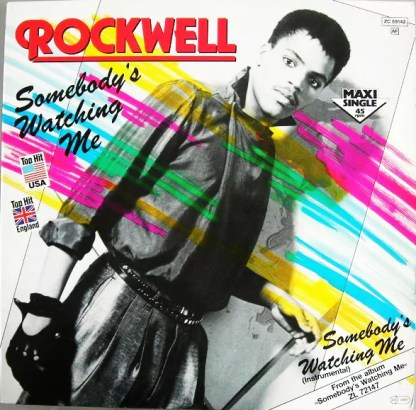 """Rockwell - Somebody's Watching Me (12"""", Maxi)"""