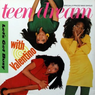 """Teen Dream With Valentino (6) - Let's Get Busy (12"""", Maxi)"""