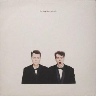 Pet Shop Boys - Actually (LP, Album)