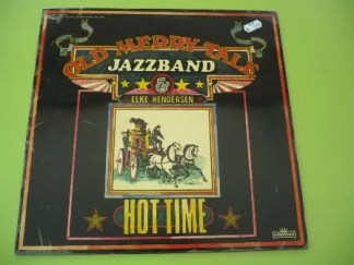 Old Merry Tale Jazzband & Elke Hendersen - Hot Time (LP)