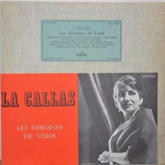 Callas* - Les Héroïnes De Verdi (LP)