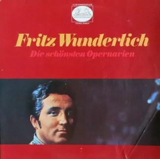 Fritz Wunderlich - Die Schönsten Opernarien (2xLP, Club)