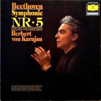 Beethoven* - Berliner Philharmoniker, Herbert von Karajan - Symphonie Nr. 5 (LP, RE)