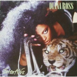 Diana Ross - Eaten Alive (LP, Album)