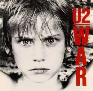 U2 - War (LP, Album, Gat)