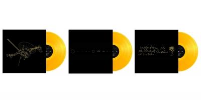 Die drei goldenen Schallplatten