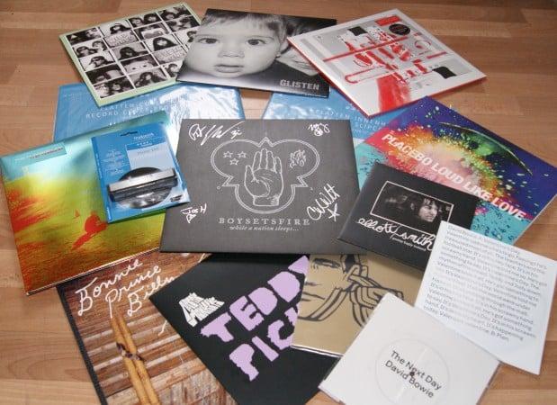 Eine Menge Vinyl und Zubehör - Gewinnspiel von Vinyl Fantasy Mag