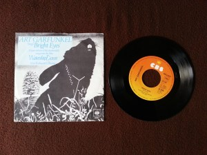 Art Garfunkel - Bright Eyes Vinyl Single