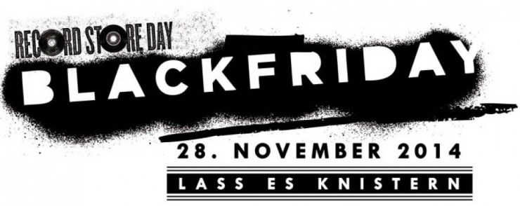 Record Store Day Black Friday - Lass es knistern Logo