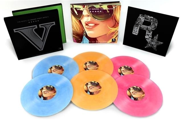 Soundtrack von Grand Theft Auto V auf Vinyl