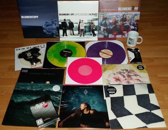 Das größte Vinyl Gewinnspiel ever - gewinnt Schallplatten en masse!