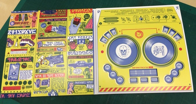 DJQBbert Interaktives Albumcover als DJ Controller