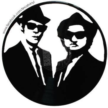 Tincat - Vinyl Art Blues Brothers