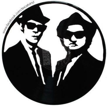 Tincat - Vinyl Art Blues Brothers