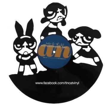 Tincat - Vinyl Art Power Puff Girls