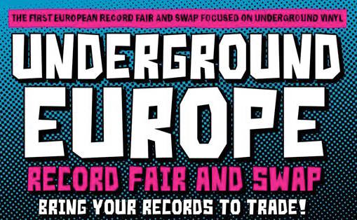 Underground Europe Record Fair Berlin