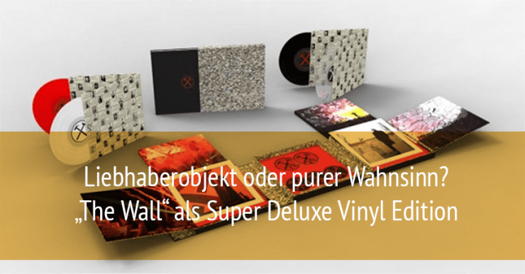 Roger Waters - The Wall als Super Deluxe Vinyl Edition