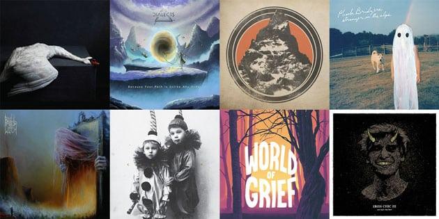 Albencover der Vinyl Highlights 2017