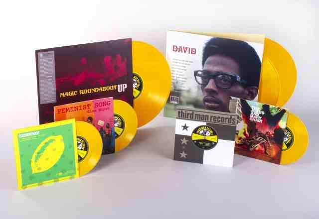 Third Man UK Vinyl Releases