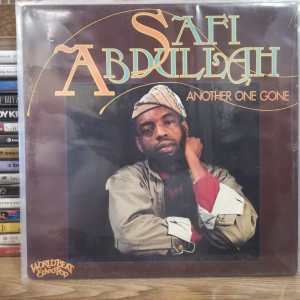 SAFİ ABDULLAH - ANOTHER ONE GONE LP