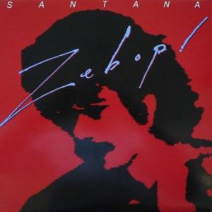 SANTANA - ZEBOP - LP, Album