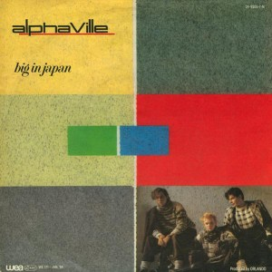 ALPHAVILLE - BIG JAPAN MAXI SINGLE