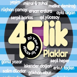 45 LİK PLAK KAYITLARI - 2 × Vinyl, LP, Compilation, Remastered