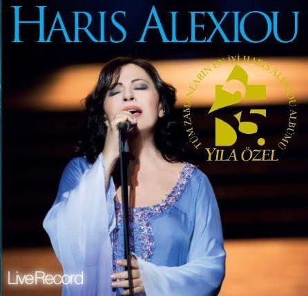 HARIS ALEXIOU - 25. YIL ÖZEL BEST OF - Vinyl, LP, Album, Remastere
