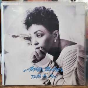 "ANITA BAKER - TALK TO ME 12"", 45 RPM, MAXI Single - PLAK"